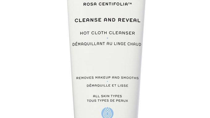 REN Rosa Centifolia Cleanse And Reveal Hot Cloth Cleanser