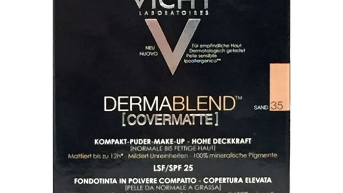Vichy Dermablend Covermatte Compact Powder Foundation 9.5gSand 35