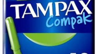 Tampax Compak Super Applicator Tampons 18