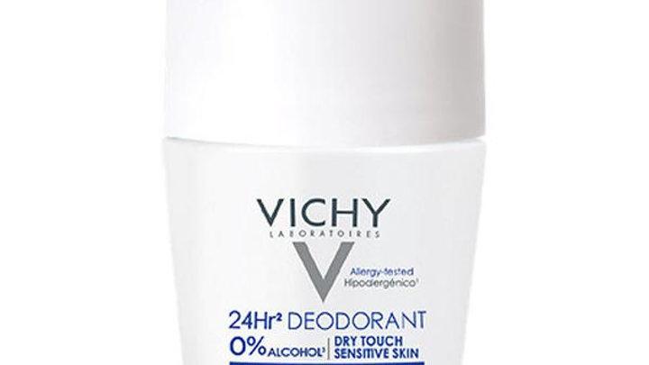 Vichy Deodorant 24 Hour Aluminium Salt-Free 0% Alcohol Roll-On 50ml
