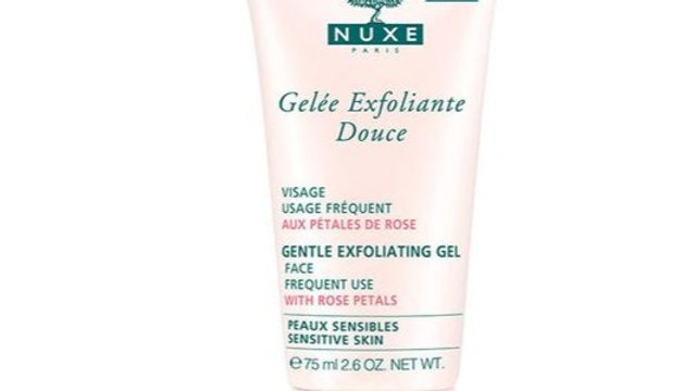 NUXE Gentle Exfoliating Gel with Rose Petals