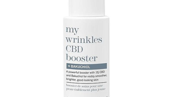 this works my wrinkles CBD booster + BAKUCHIOL