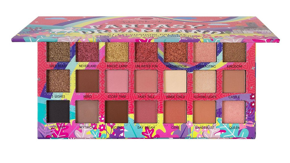 J. Cat Beauty Fantasy Dreamland 21 Colour Eyeshadow Palette