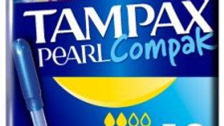 Tampax Pearl Compak Regular Applicator Tampons 18