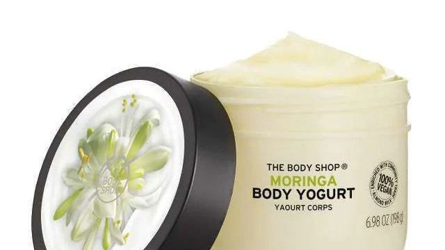 The Body Shop Moringa Body Yogurt