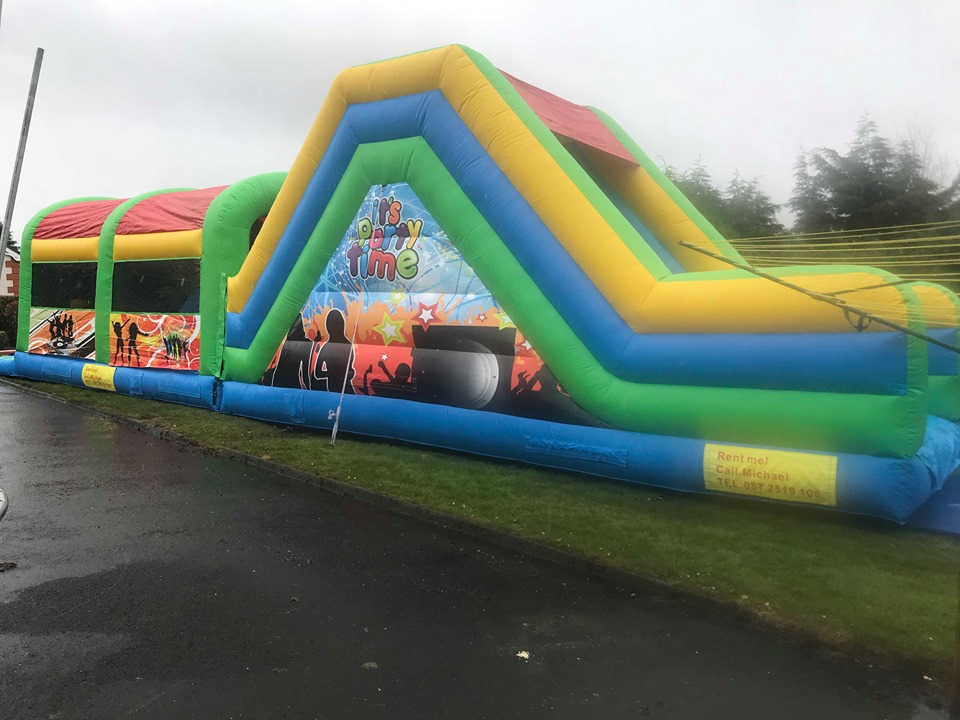 Sligo Bouncy Castles Party Course (1)