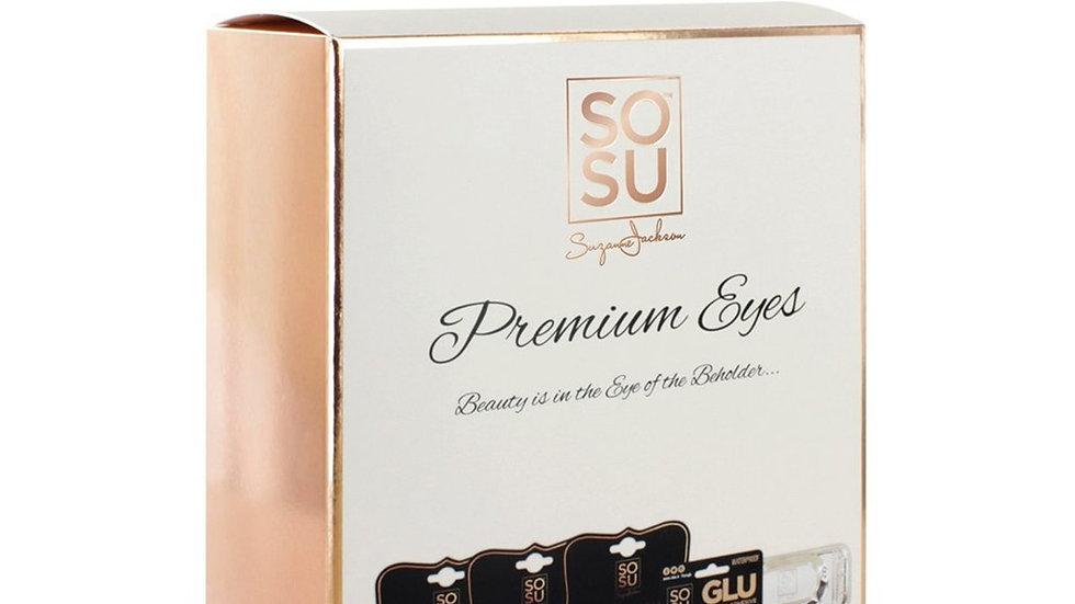 SOSU Premium Eyes Premium Lash 3 Pack Gift Set