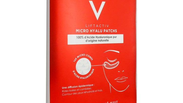 Vichy LiftActiv Micro Hyalu Patchs Night Targeted Eyes Patches 2 Patches