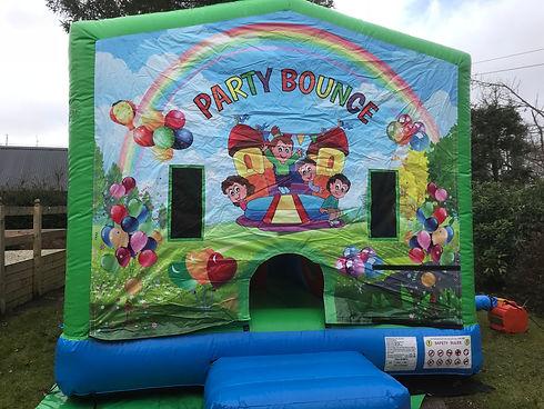 5 In 1 Castle. DOnegal Bouncy Castle Hir