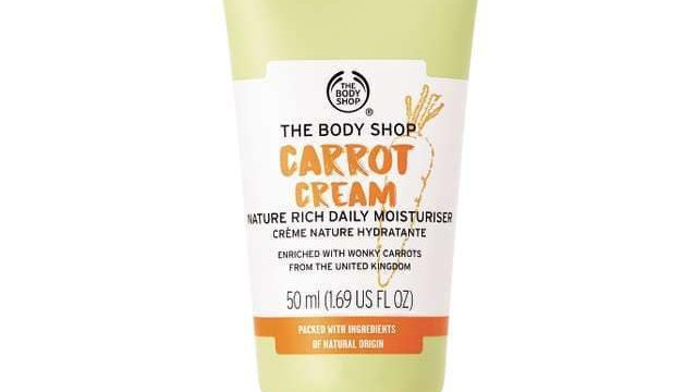 The Body Shop Carrot Cream Nature Rich Daily Moisturizer 100ml