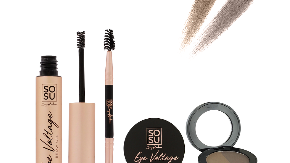 SoSu Ultimate Brow Kit - (Light-Medium)
