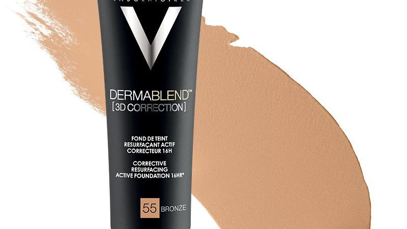 Vichy Dermablend 3D Correction Corrective Foundation 16HR SPF25 30ml 45 Bronze