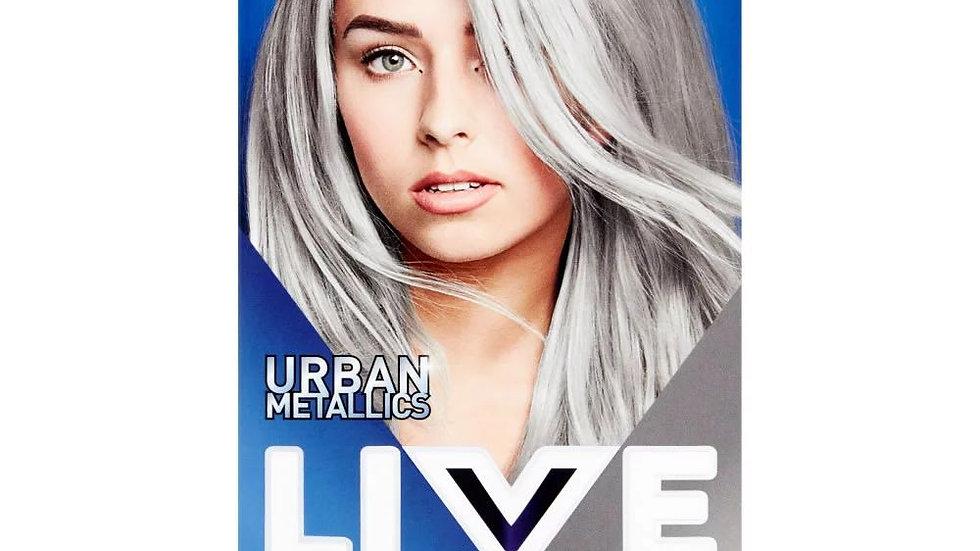 Schwarzkopf Live Intense Colour U71 Metallic Silver Ladies Hair Dye