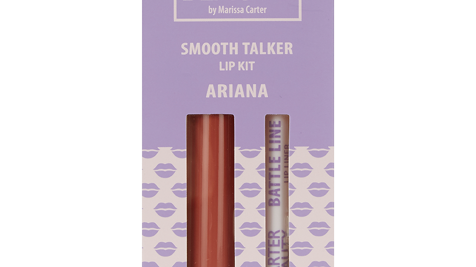 Carter Beauty Smooth Talker Lip Kit – Ariana