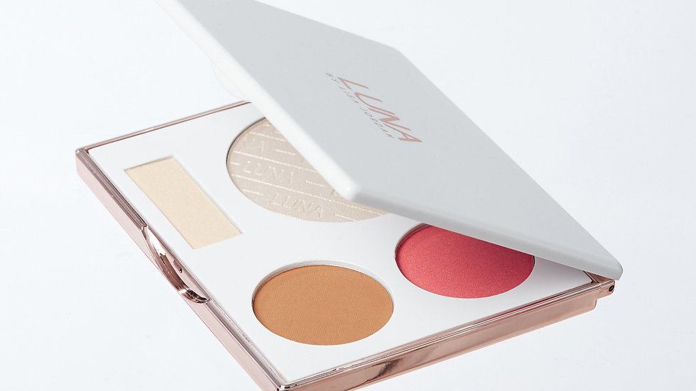 LUNA Pearl & Glow Face Palette