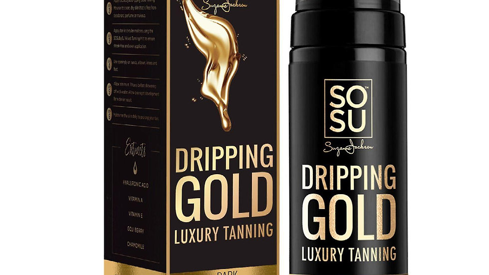 SOSU Dripping Gold Luxury Self Tanning Mousse Dark