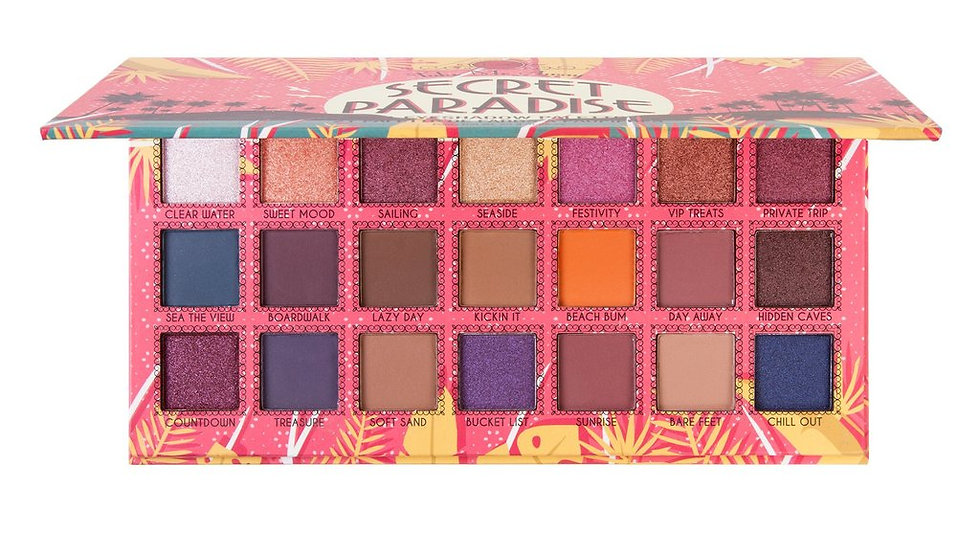 J. Cat Beauty Secret Paradise 21 Colour Eyeshadow Palette