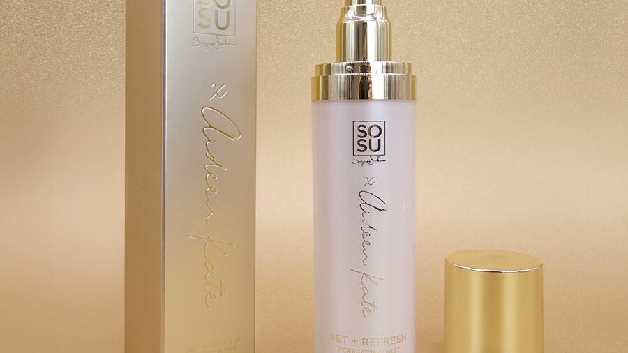 SOSU X Aideen Kate Gold Vibes Only Set & Refresh Spray