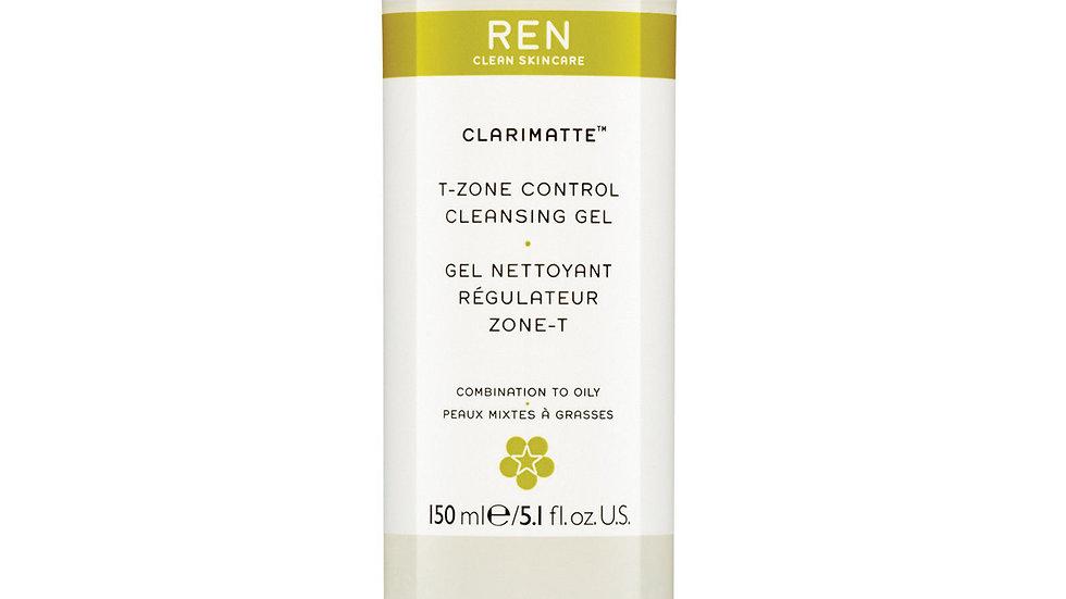 REN 'Clarimatte' T-Zone Control Cleansing Gel 5.1 oz