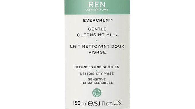REN Evercalm Gentle Cleansing Milk( 150ml )