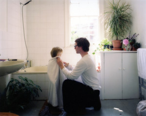 Like father like son (Bathroom)