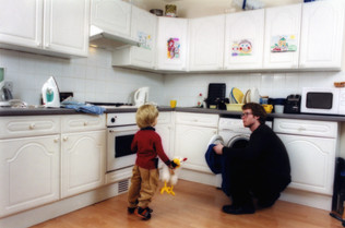 Like father like son (Kitchen)