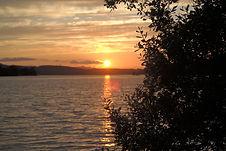 Sunset lough MacNean