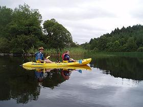 Canoeing Corralea