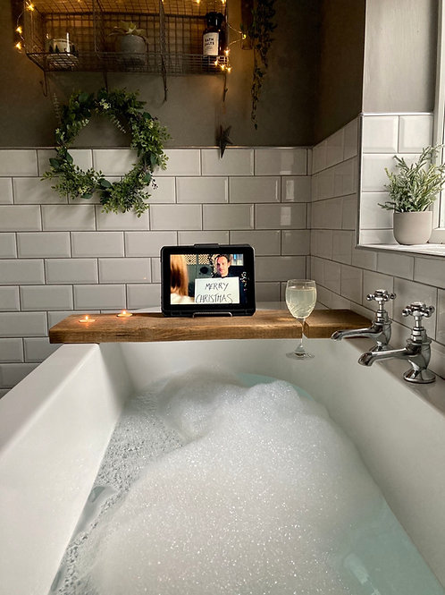 Rustic Bath Caddy