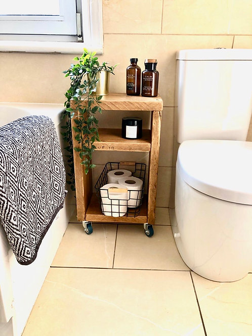 Rustic Storage Unit - Bedside Table - Bathroom Storage