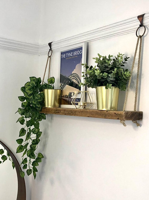 Slim Rope Shelf