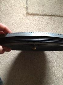 Lenco platter damping rings
