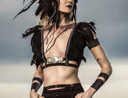Feathered body Harness