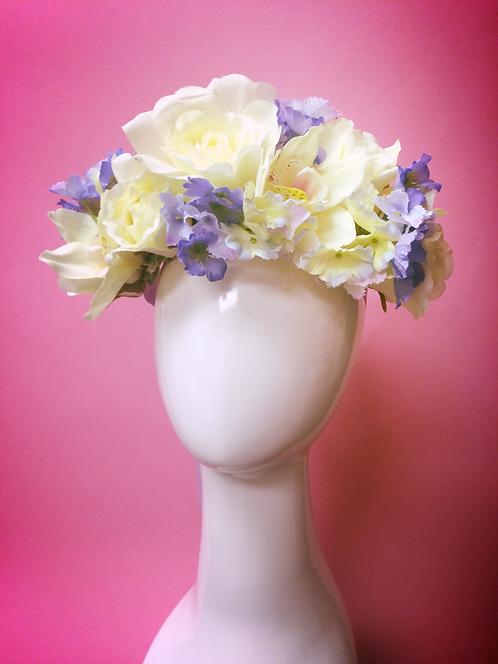 Spring Solstice flower crown