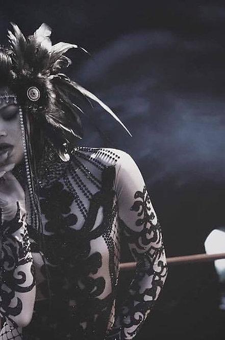 Raven Warrior headress