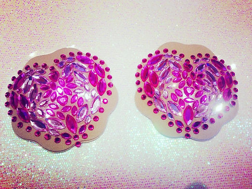 Pink Hearts Pasties
