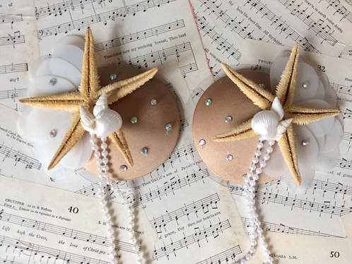 Pearl Mermaid Pasties