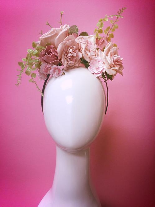 Rose garden headband