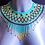Thumbnail: Turquoise Beaded Collar
