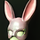 Thumbnail: Bejewelled Lilac Bunny Mask