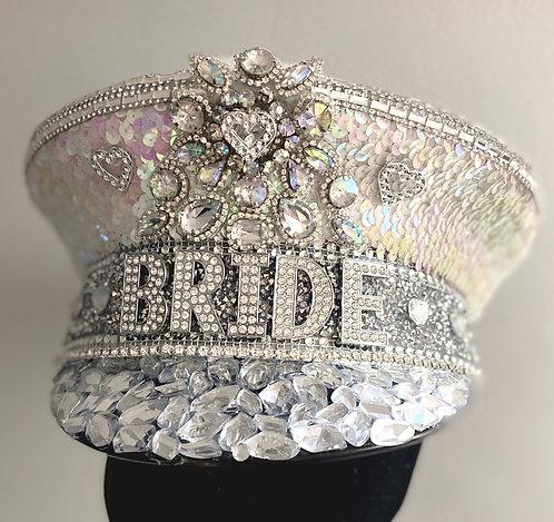 Hearts Bride Hat