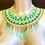 Thumbnail: Aqua Beaded Collar