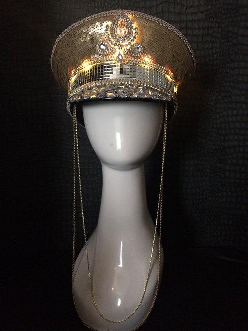 Major Glam light up hat