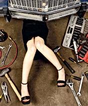 Steering problem solver, worn tyres
