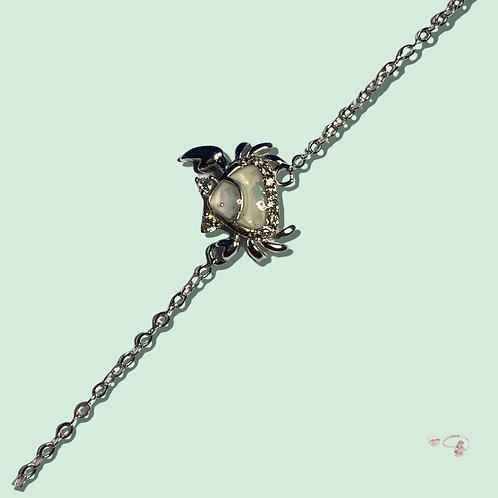 Armkette opal Krebs