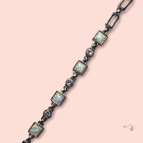 Armkette opal