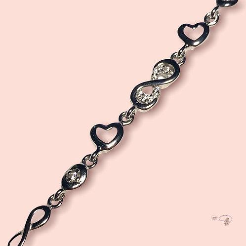 Armkette Infinity Love