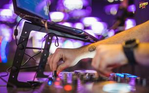 Groot tattoo on DJ DAVID MASH hand