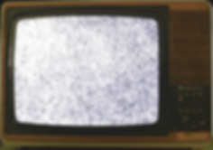 dolly-into-vintage-tv-with-bad-reception