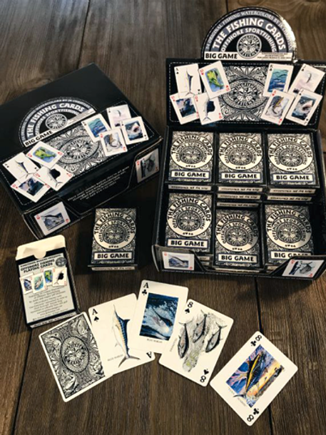 24 Decks of Offshore Playing Cards with Retail Display Box